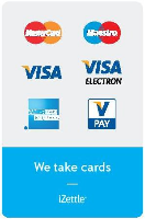 GGB Services accept credit & debit cards